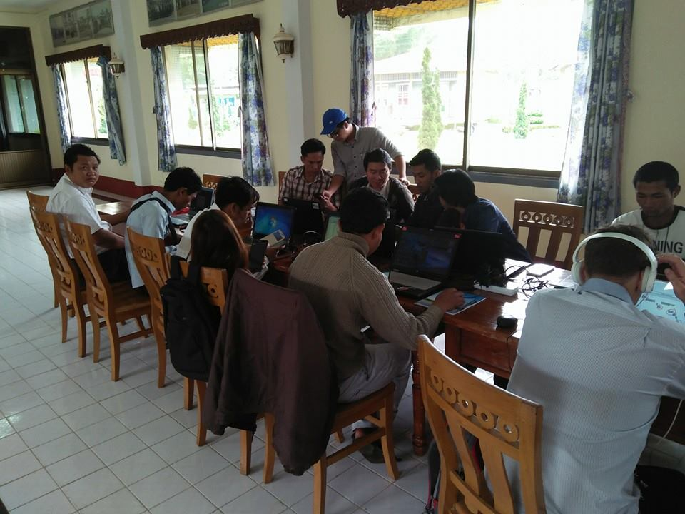 Member Mapping Training in Pwin Oo Lwin
